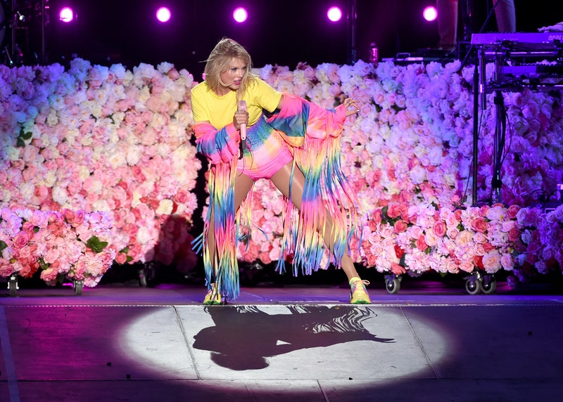 CARSON, CALIFORNIA - JUNE 01: (EDITORIAL USE ONLY. NO COMMERCIAL USE) Taylor Swift performs onstage at 2019 iHeartRadio Wango Tango presented by The JUVÉDERM® Collection of Dermal Fillers at Dignity Health Sports Park on June 01, 2019 in Carson, California. (Photo by Kevin Winter/Getty Images for iHeartMedia)
