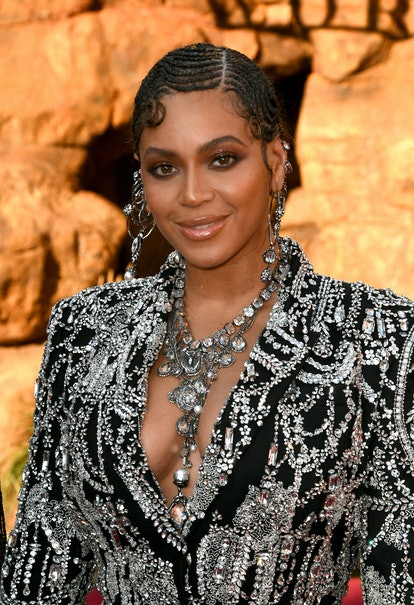 "HOLLYWOOD, CALIFORNIA - JULY 09: Beyoncé attends the premiere of Disney's ""The Lion King"" at Dolby Theatre on July 09, 2019 in Hollywood, California. (Photo by Kevin Winter/Getty Images)"