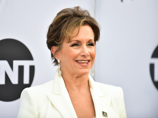 LOS ANGELES, CALIFORNIA - JANUARY 27: SAG-AFTRA President Gabrielle Carteris arrives at the 25th Annual Screen Actors Guild Awards at The Shrine Auditorium on January 27, 2019 in Los Angeles, California. (Photo by Rodin Eckenroth/Getty Images)