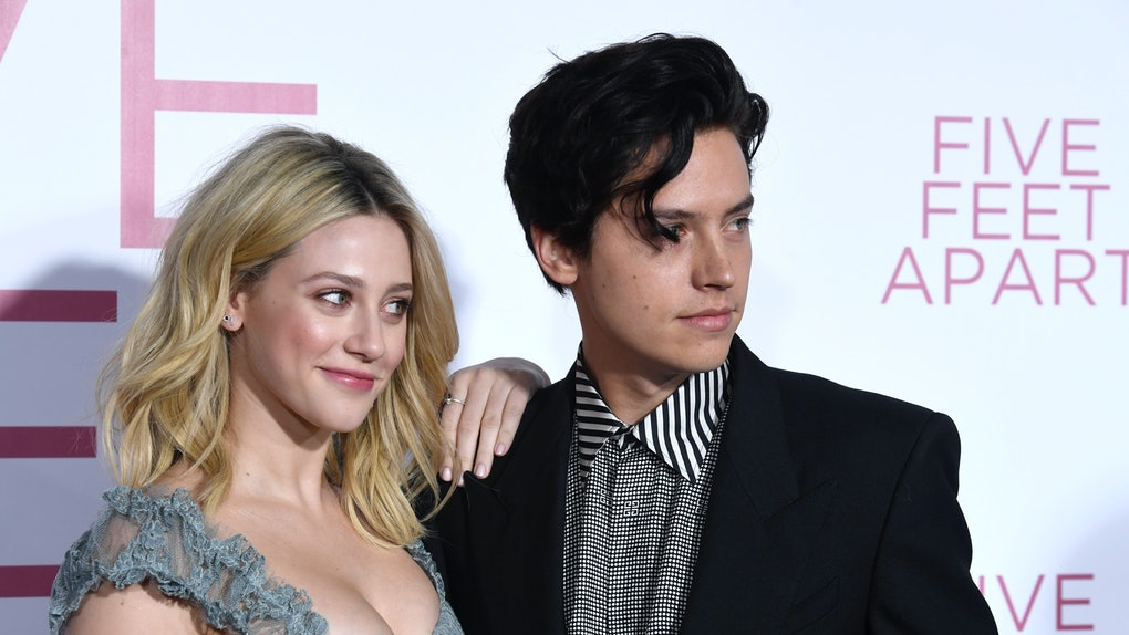 """LOS ANGELES, CALIFORNIA - MARCH 07:  Lili Reinhart and Cole Sprouse attend the Premiere Of Lionsgate's """"Five Feet Apart"""" at Fox Bruin Theatre on March 07, 2019 in Los Angeles, California. (Photo by Frazer Harrison/Getty Images)"""