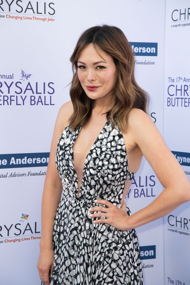 BRENTWOOD, CA - JUNE 02:  Lindsay Price attends the 17th Annual Chrysalis Butterfly Ball at Private ...