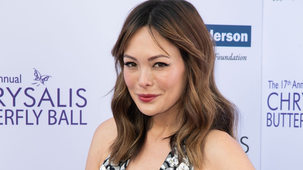 BRENTWOOD, CA - JUNE 02:  Lindsay Price attends the 17th Annual Chrysalis Butterfly Ball at Private Residence on June 2, 2018 in Brentwood, California.  (Photo by Earl Gibson III/Getty Images)