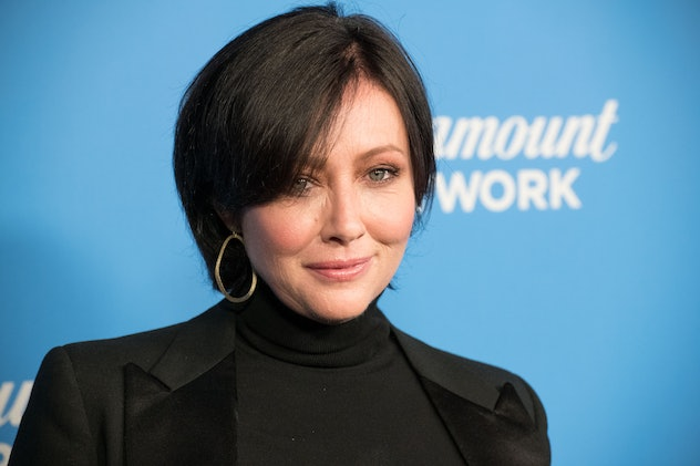 LOS ANGELES, CA - JANUARY 18:  Actress Shannen Doherty attends Paramount Network Launch Party at Sunset Tower on January 18, 2018 in Los Angeles, California.  (Photo by Earl Gibson III/Getty Images)