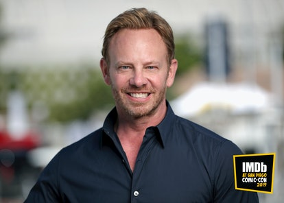 SAN DIEGO, CALIFORNIA - JULY 18:  (EDITORS NOTE: This image has been altered: a logo was added.) Ian Ziering attends the #IMDboat at San Diego Comic-Con 2019: Day One at The IMDb Yacht on July 18, 2019 in San Diego, California. (Photo by Rich Polk/Getty Images for IMDb)