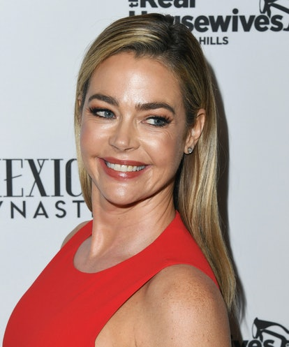 """WEST HOLLYWOOD, CALIFORNIA - FEBRUARY 12:  Denise Richards attends Bravo's Premiere Party For """"The Real Housewives Of Beverly Hills"""" Season 9 And """"Mexican Dynasties""""at Gracias Madre on February 12, 2019 in West Hollywood, California. (Photo by Jon Kopaloff/Getty Images,)"""