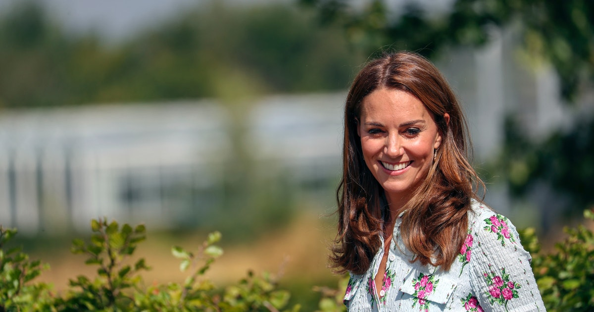 Kate Middleton's Rose Dress For The Royal Horticultural Society Event Proves Summer Isn't Over