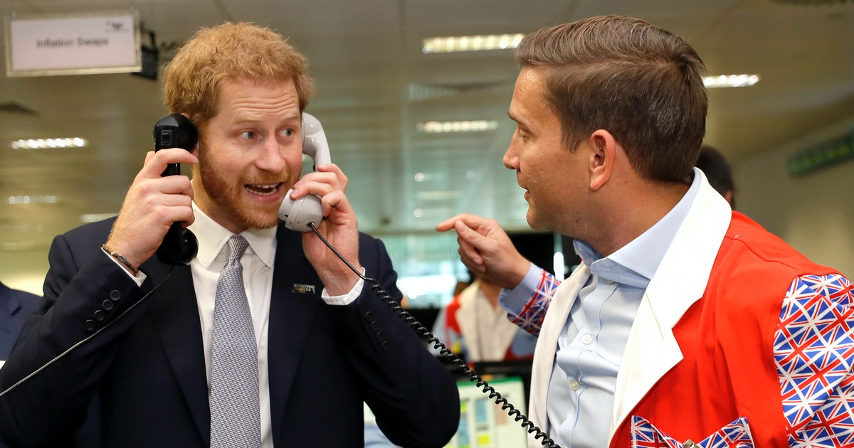 Prince Harry Closed A £1 Billion Trade During A 9/11 Charity Event