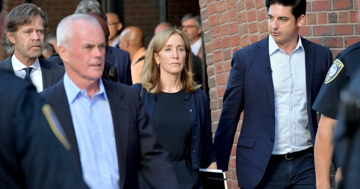 Felicity Huffman's College Admissions Scandal Sentence Tweets Points Out Racist Justice System