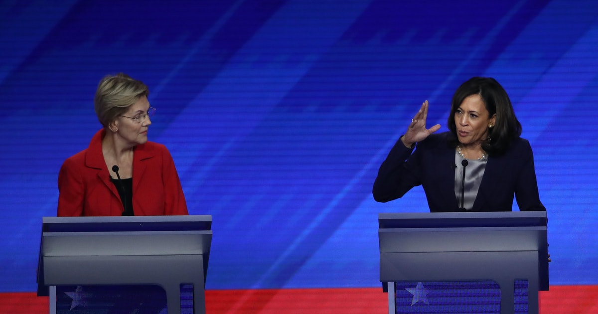 Kamala Harris Compared Trump To The Wizard Of Oz In A Hilariously Weird Debate Moment