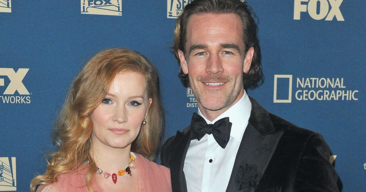 James Van Der Beek's Wife Kimberly Brook Will Be Cheering Him On Throughout 'Dancing With The Stars'