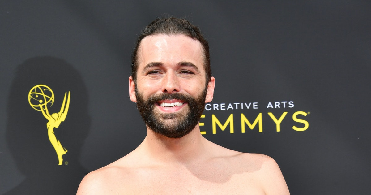 Jonathan Van Ness' 2019 Creative Arts Emmys Dress Was An LBD With A MASSIVE Bow