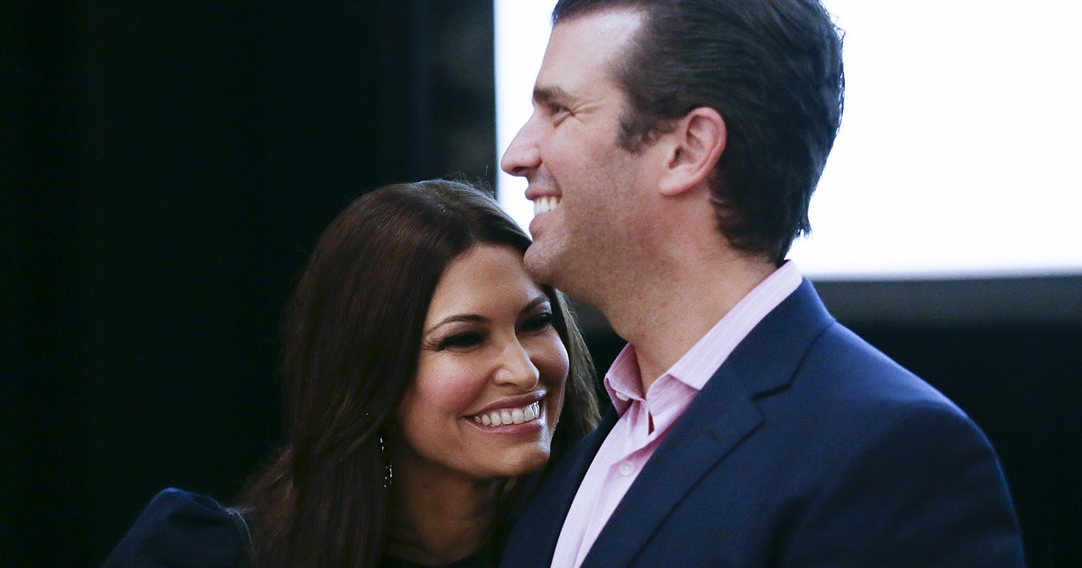 These Photos Of Donald Trump Jr. & Kimberly Guilfoyle Highlight A Strong Relationship