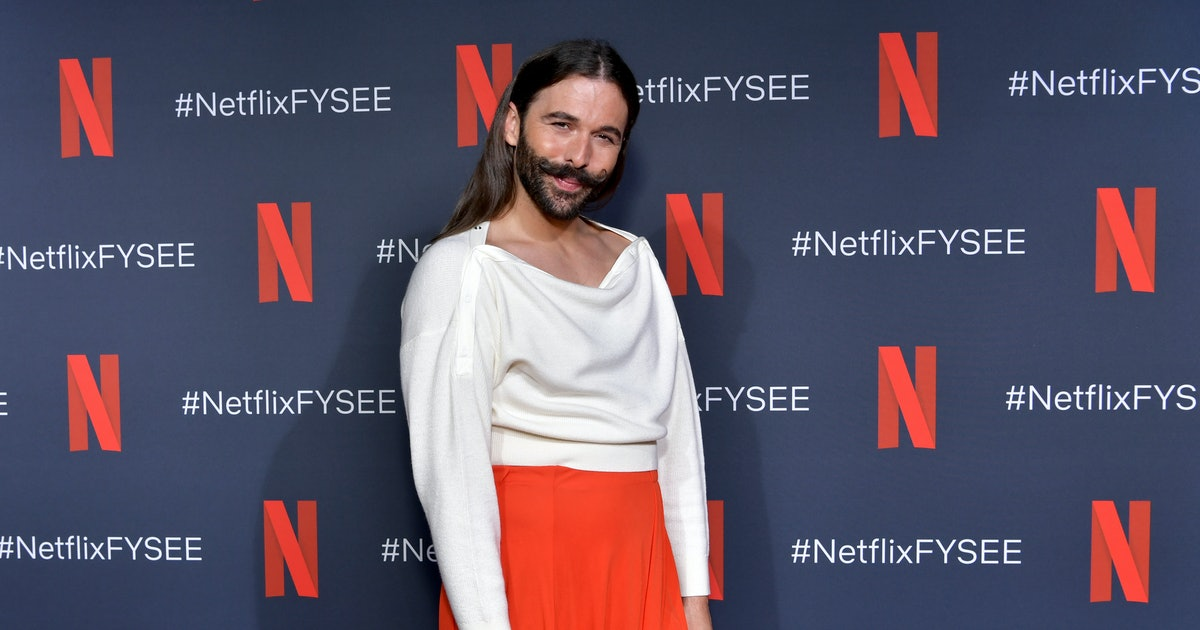 Why Jonathan Van Ness Revealed His HIV+ Status In His New Book