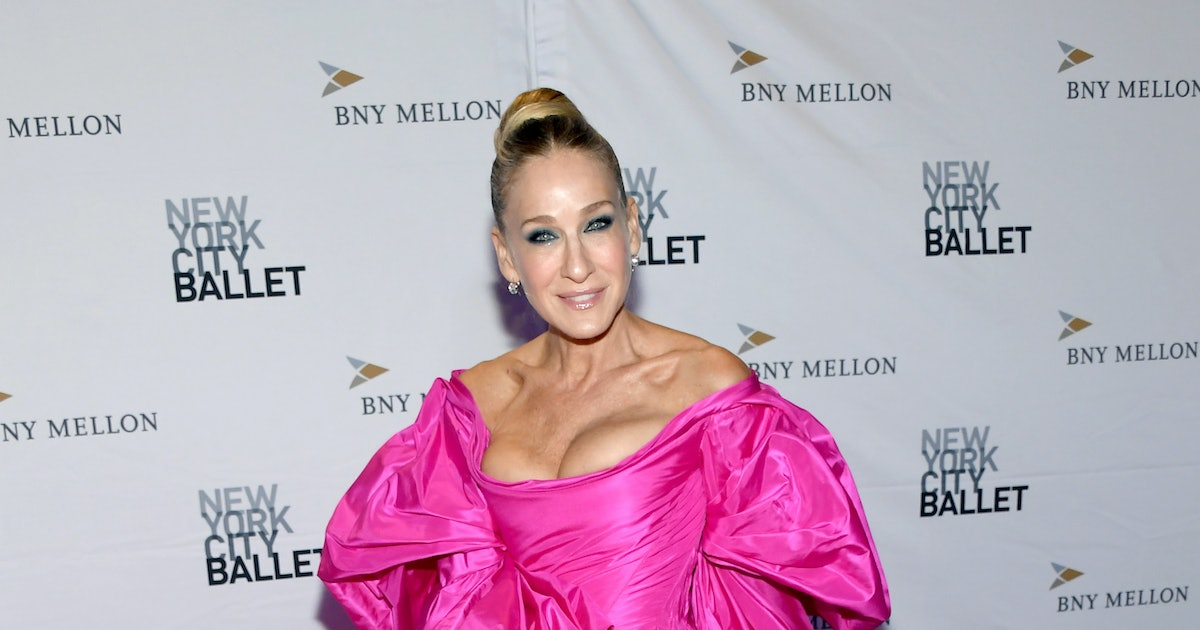 Sarah Jessica Parker Wore Mismatched Shoes Just Like Carrie Bradshaw