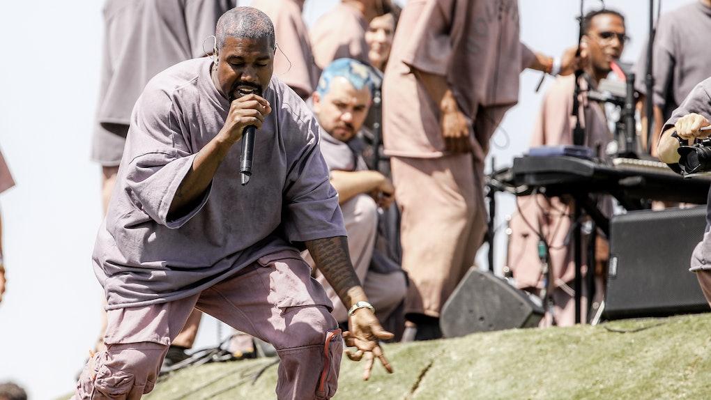 Image result for I'm Quitting Secular Music For Gospel - Kanye West Reveals