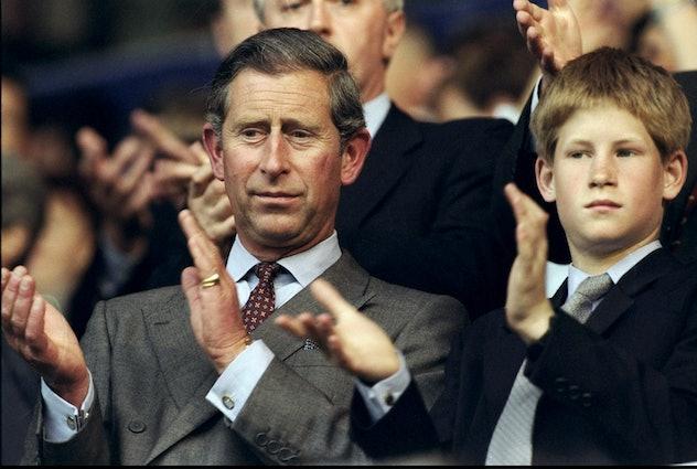 Prince Harry was a skeptical boy.