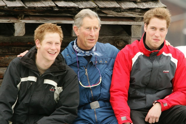 Prince Harry has been on many family vacations.
