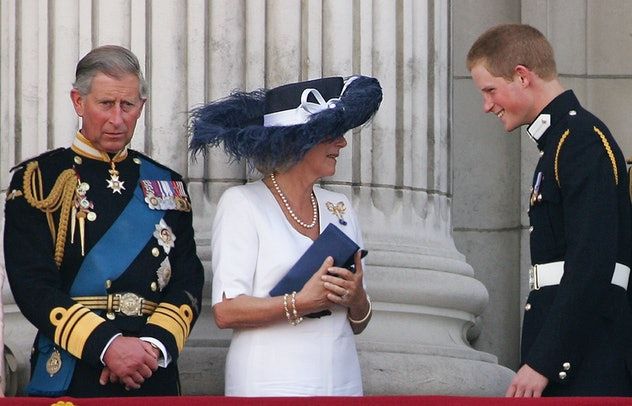 Prince Harry has a good relationship with his stepmother, Camila Parker Bowles.
