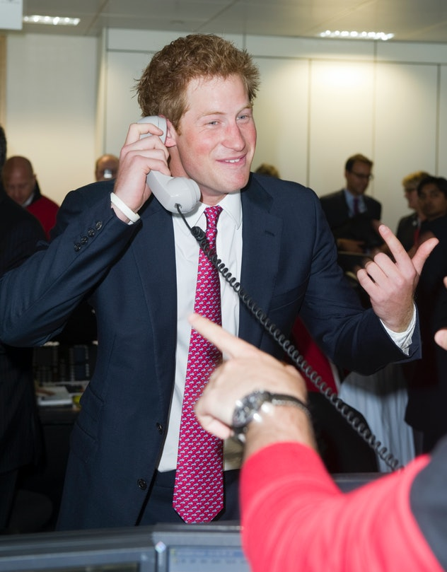 Prince Harry got cheeky during a fundraiser.