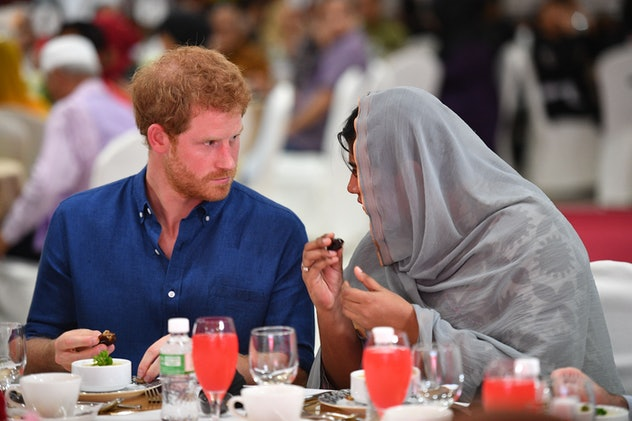Prince Harry is a quick learner.