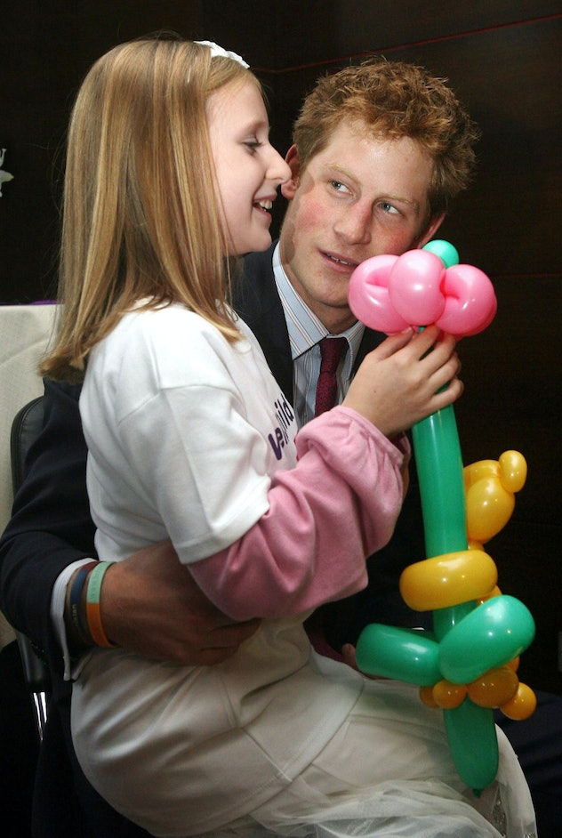 Prince Harry always had a connection with kids.