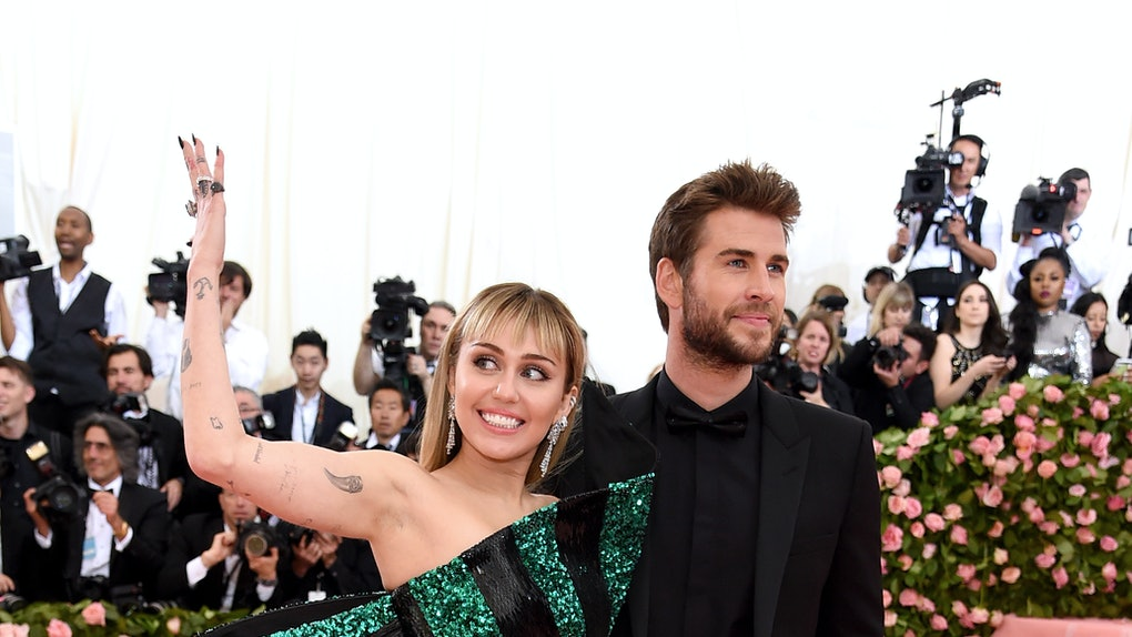 Miley Cyrus & Liam Hemsworth's Social Media Interactions