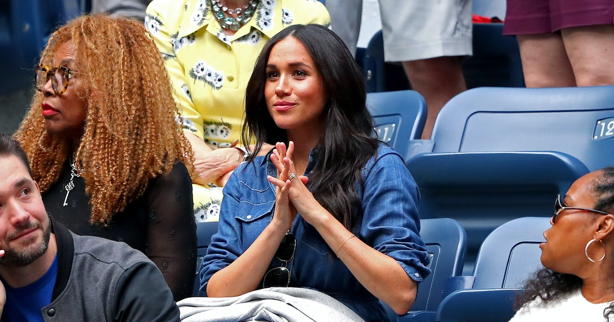 These Photos Of Meghan Markle Cheering On Serena Williams At The U.S. Open Are Everything