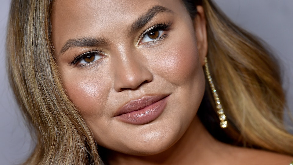 Chrissy Teigen didn't manage to stay awake until midnight on New Year's Eve.