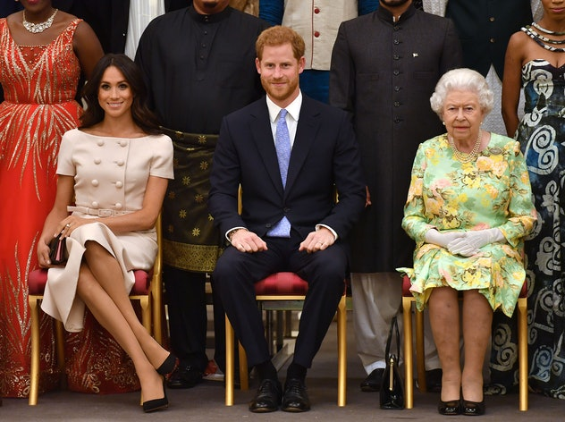 Meghan Markle can start crossing her legs again.