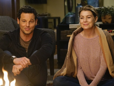 Ellen Pompeo reacted To Justin Chambers leaving 'Grey's Anatomy' in a Jan. 11 tweet.