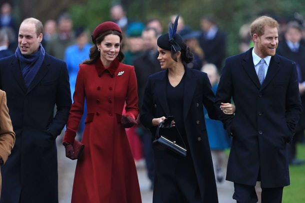 Prince William, Duchess Kate Middleton, Duchess Meghan Markle, Prince Harry