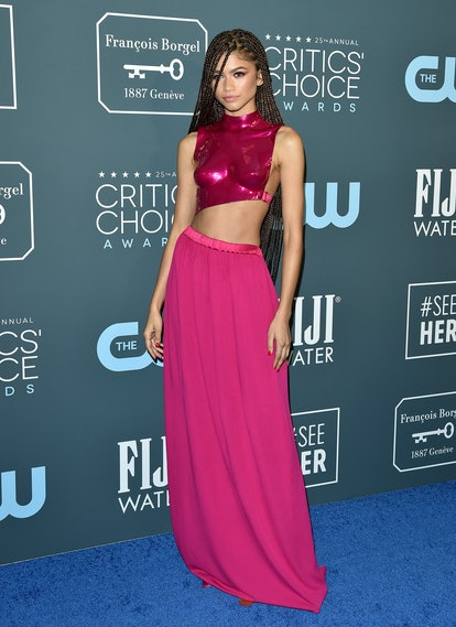 Zendaya's Tom Ford separates at the Critics Choice Awards were so sleek.