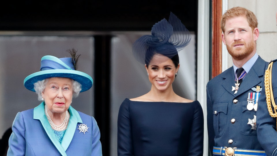 """In a rare statement, Queen Elizabeth II has said she supports Prince Harry and Meghan Markle's """"desire to create a new life."""""""
