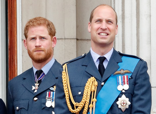 """Prince William and Prince Harry issued a joint statement about their relationship amid a report of """"..."""