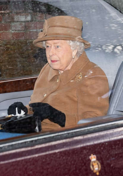The Queen's church outfit may have been an olive branch to Meghan Markle.