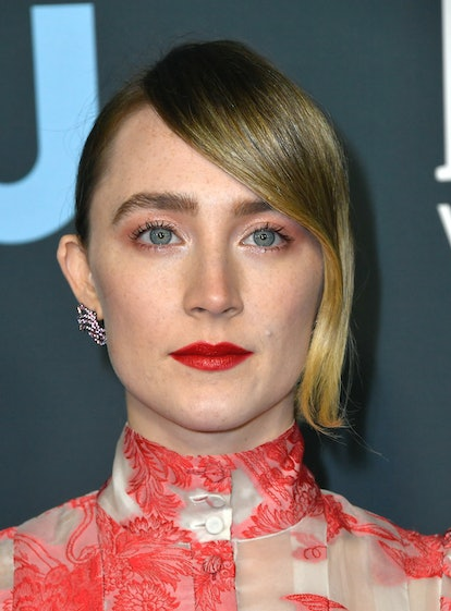 Saoirse Ronan at the 2020 Critics' Choice Awards is one of the best beauty looks