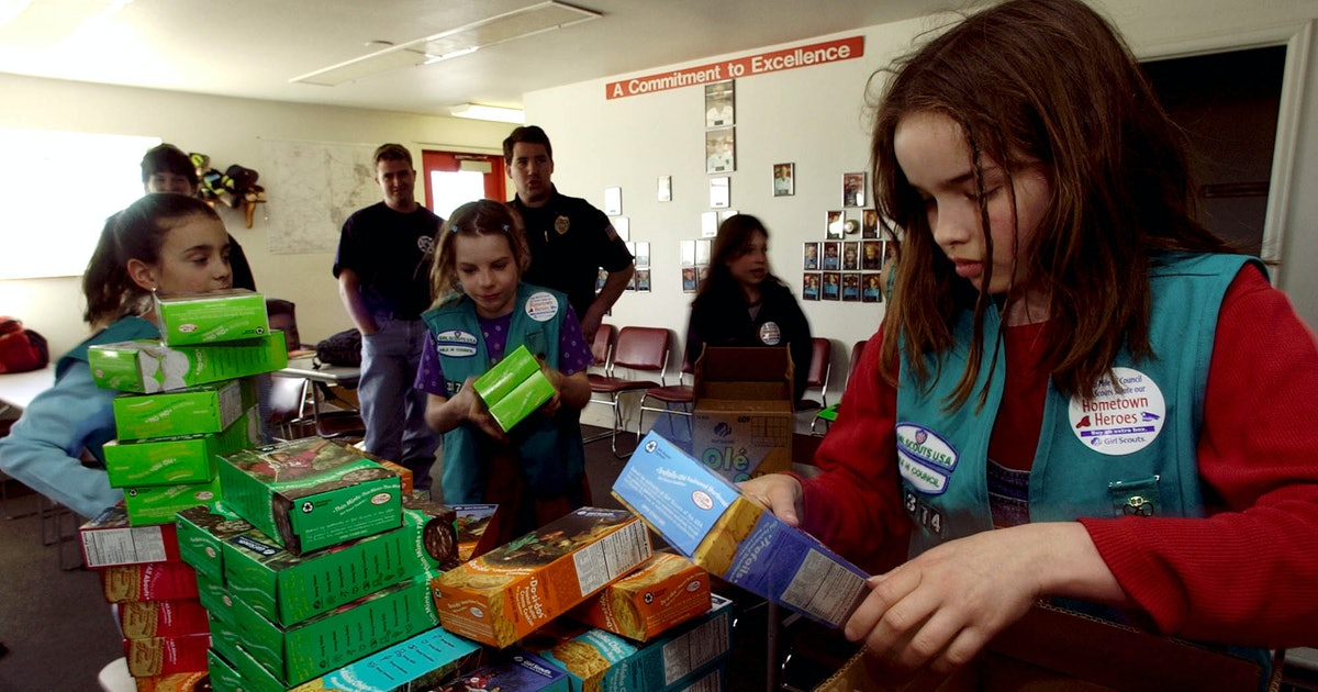 How To Send Girl Scout Cookies To Troops, Because Thin Mints Are Always A Joy