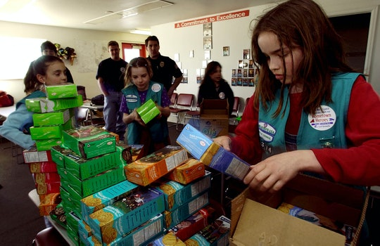 Sending Girl Scout cookies to troops is as easy as ordering your own box.