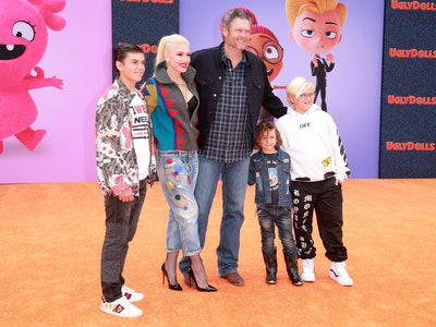While Blake Shelton does not have kids of his own, he's grown close to the three boys his longtime girlfriend Gwen Stefani has from her previous relationship.