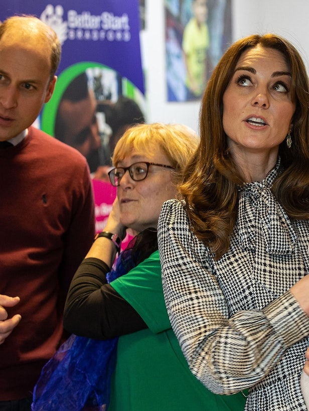 Kate Middleton wore a Zara dress for her first official 2020 outing, and it's still for sale online