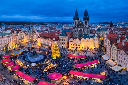 Prague's Christmas markets are an ideal way to celebrate the end of 2020
