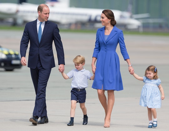 Prince William thought a photo of him from when he was younger was actually a photo of his daughter, Princess Charlotte.