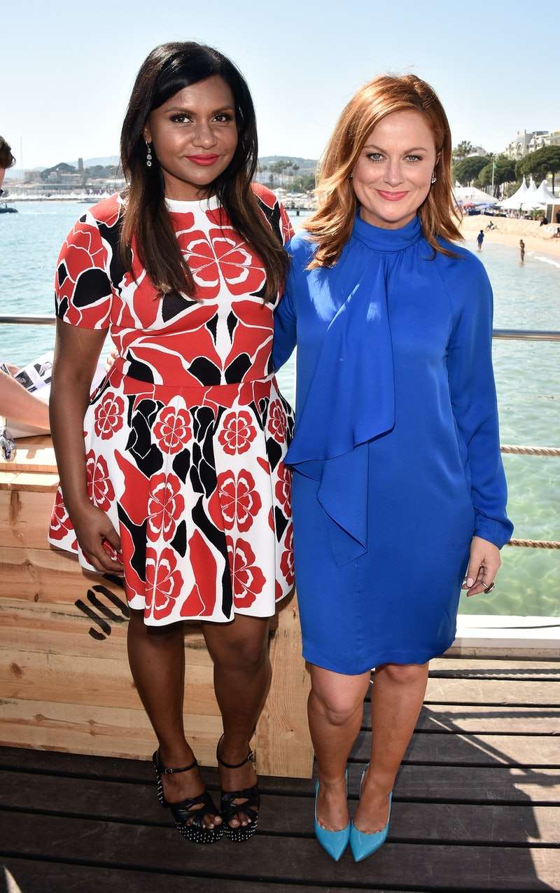Mindy Kaling and Amy Poehler are developing new comedies for their NBC's Peacock streaming service.
