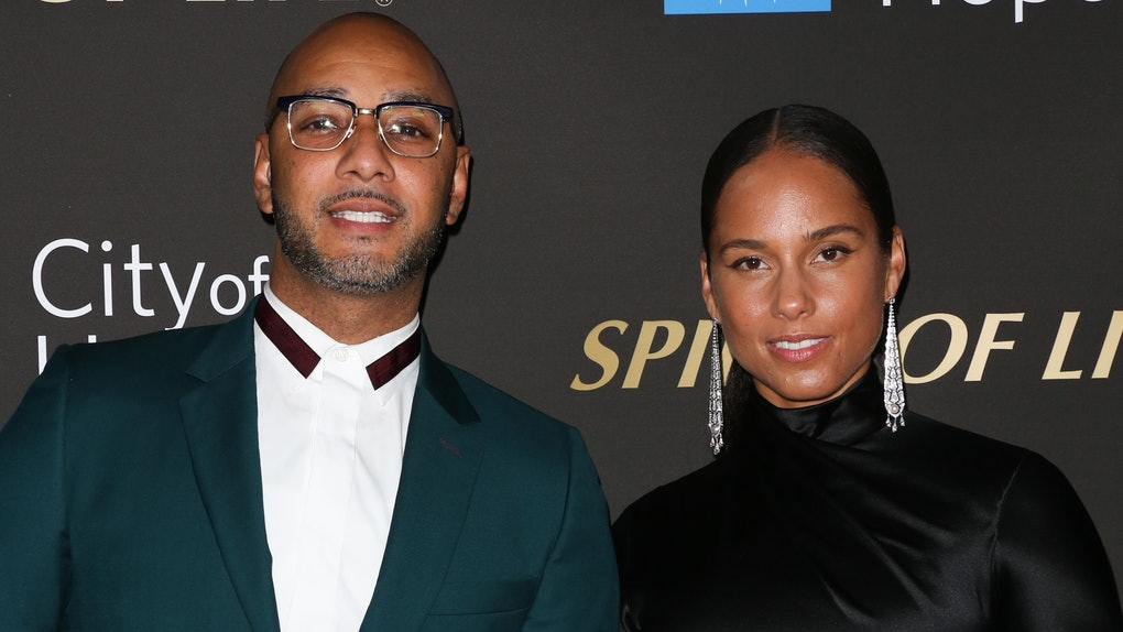 Swizz Beatz and Alicia Keys hit the red carpet.