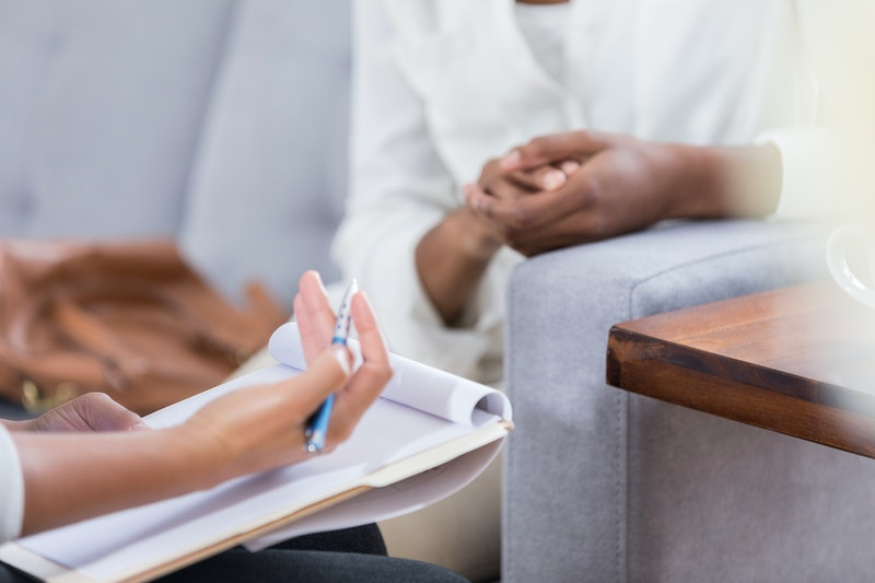 A woman talks to her therapist about why her therapy isn't working, and what to do next