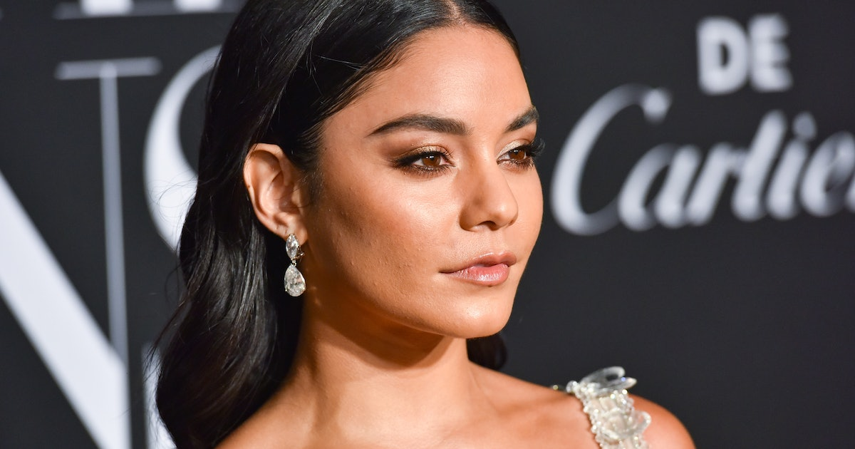 Vanessa Hudgens Dyed Her Hair Brunette For The 'Bad Boys For Life' Premiere