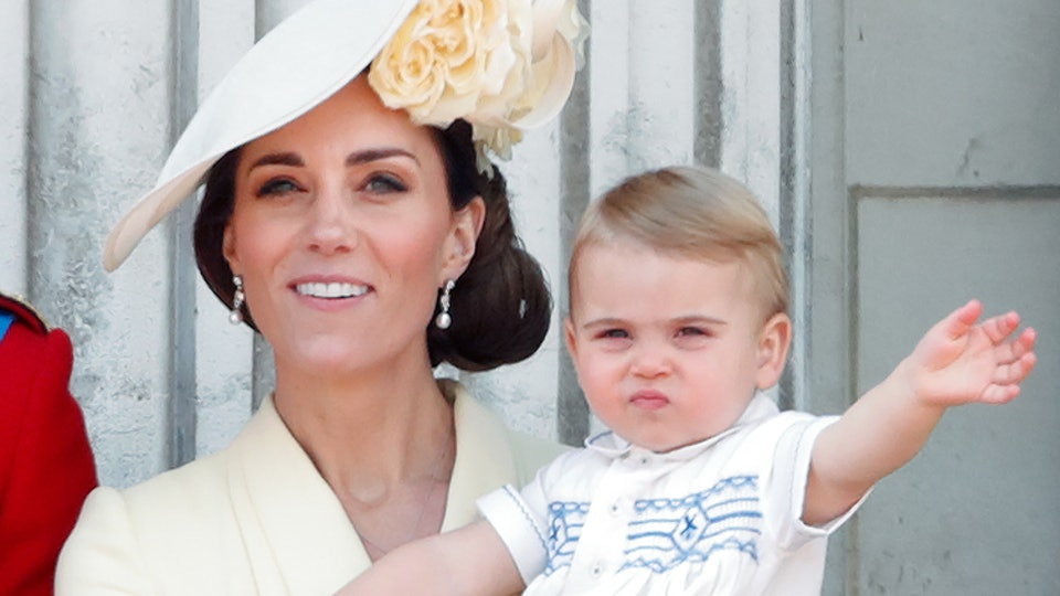 Kate Middleton revealed her youngest son Prince Louis is getting busier every day