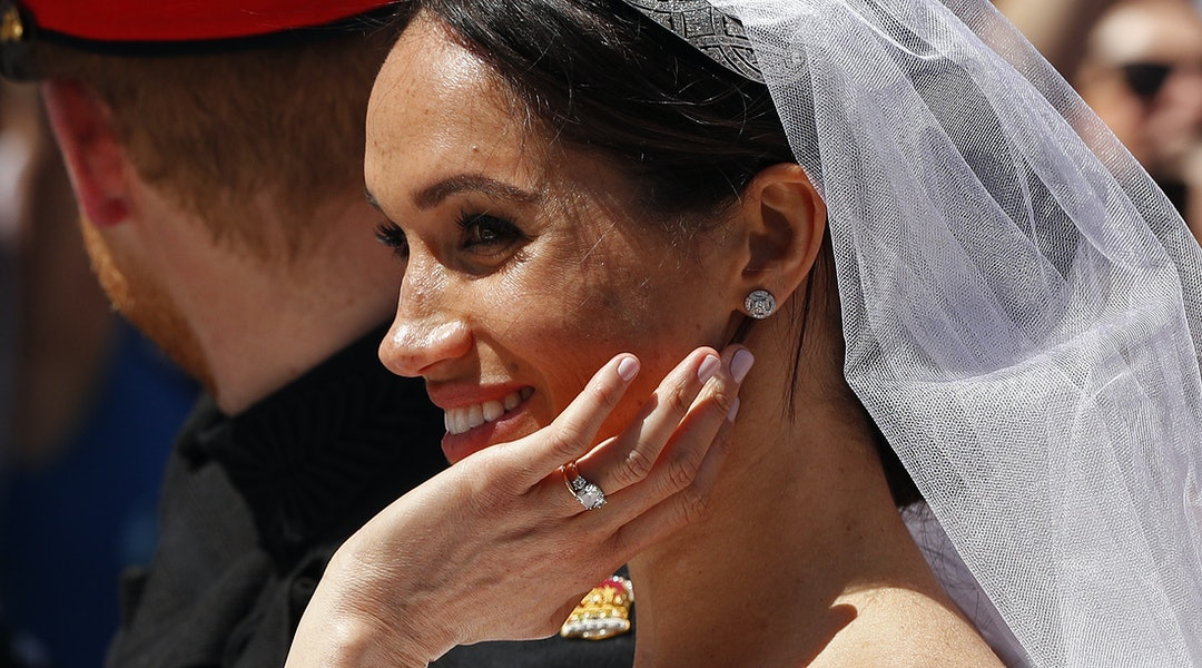 Meghan Markle, Kate Middleton, Priyanka Chopra, and Hailey Baldwin had some of the most memorable manicures on their wedding days