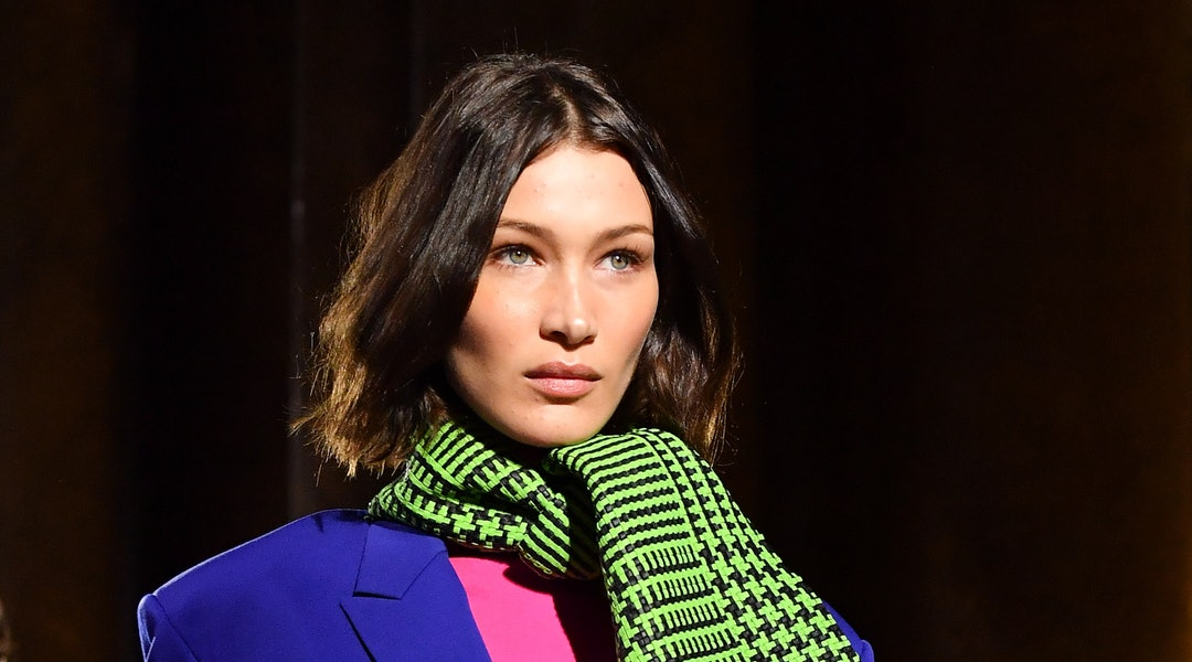 Bella Hadid's choppy bangs are the French-girl hair inspo you need to see.