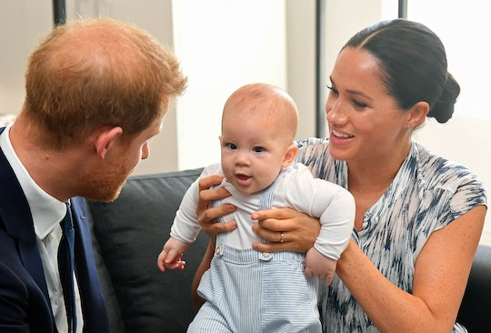 Prince Harry, Baby Archie, and Meghan Markle
